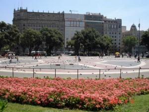 Площадь Каталунья