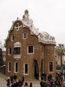 Пряничный домик, увенчанный поганкой