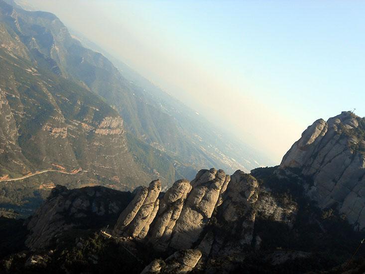 Гора Монстеррат Каталония