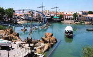 Парк порт авентура в Испании, лучшие аттракционы Европы, Дракон Хан и Шамбала
