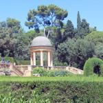 Павильон в парке лабиринт Орта
