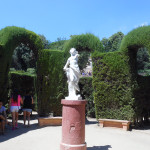 Статуя в центре лабиринта