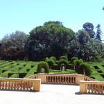Извилины парка лабиринт